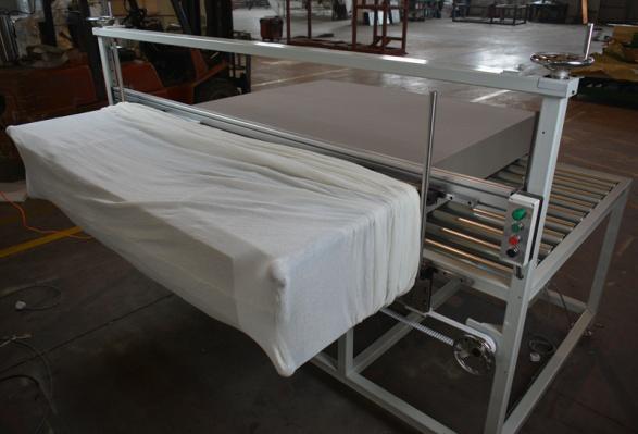 海綿機械設備試機