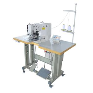 CLF1 床垫专用自动单缝式床垫拉手带缝合机
